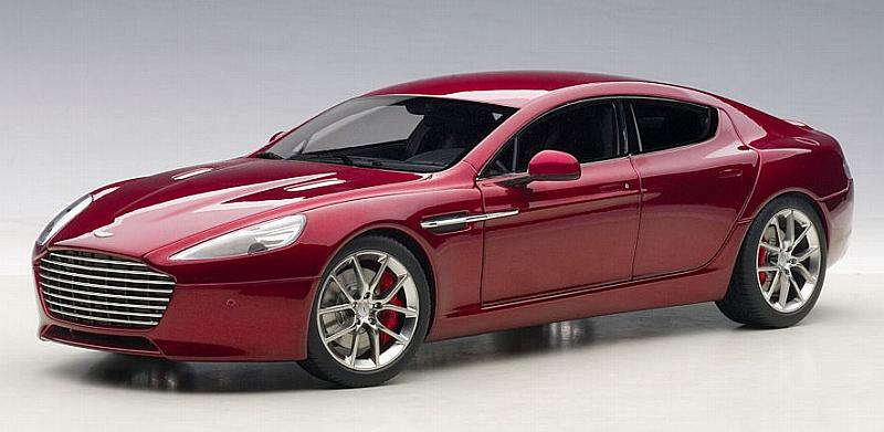 Aston Martin Rapide S 2015 (Red) by auto-art