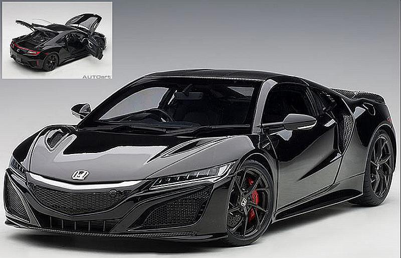Honda NSX (NC1) 2016 (Black) by auto-art