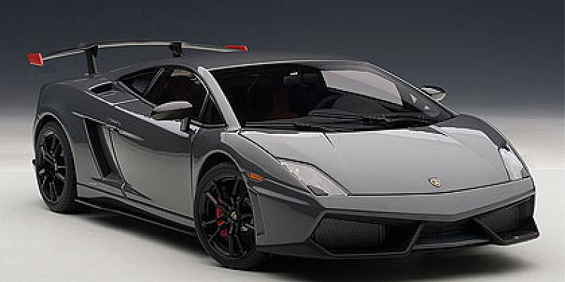 Lamborghini Gallardo LP570 Supertrofeo 2011 (Silver) by auto-art