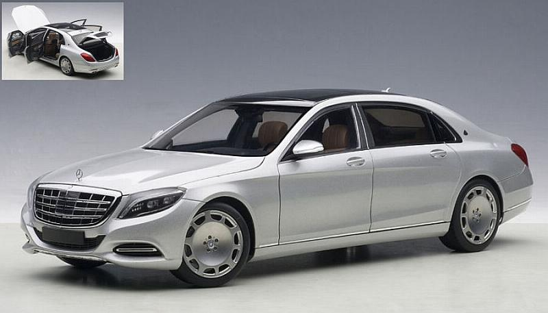 Mercedes Maybach S-Class (S600) 2016 (Silver) by auto-art