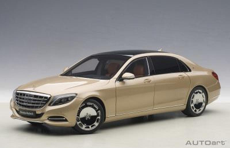 Mercedes Maybach S-Class S600 (Gold) by auto-art