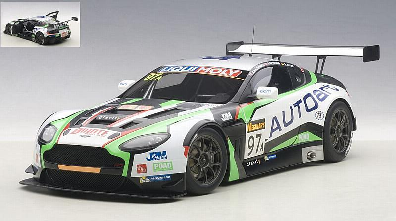 Aston Martin V12 #97 12h Bathurst 2015 Mucke - O'Young- McDowall by auto-art