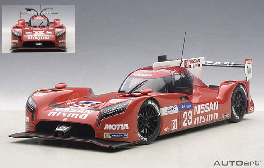 Nissan GT-R LM Nismo #23 Le Mans 2015 Pla - Mardenborough - Chilton by auto-art