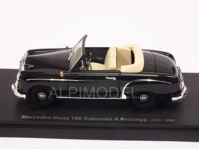Mercedes 180 Cabriolet A Prototype 1953 (Black) - avenue-43