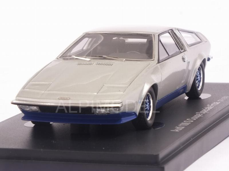 Audi 100S Coupe Speciale Frua 1974 (Silver) by avenue-43