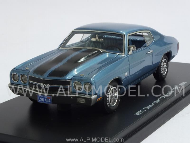 Chevrolet Chevelle SS 454 1970 (Light Blue Metallic) by auto-world