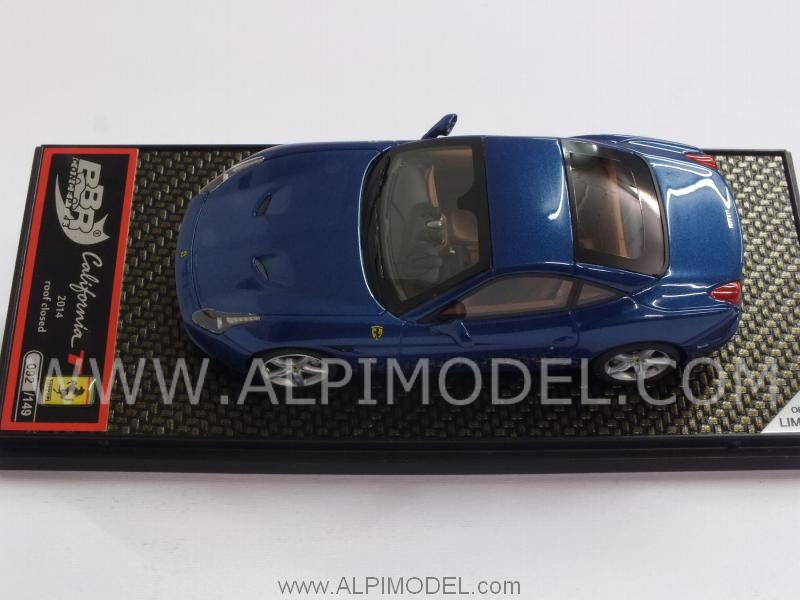 Ferrari California T 2014 closed (Metallic Blue) - bbr