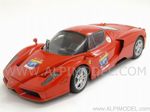 Bbr Hesp003 Ferrari Enzo 60th Relay 2007 Red High End 118 Limited