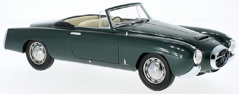 Lancia Aurelia PF200 Cabriolet (Metallic Dark Green) by best-of-show