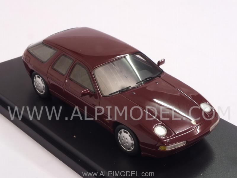 Porsche 928 Studie H 50 1987 (Dark Red) - best-of-show