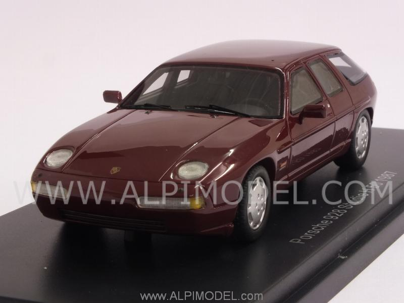 Porsche 928 Studie H 50 1987 (Dark Red) by best-of-show