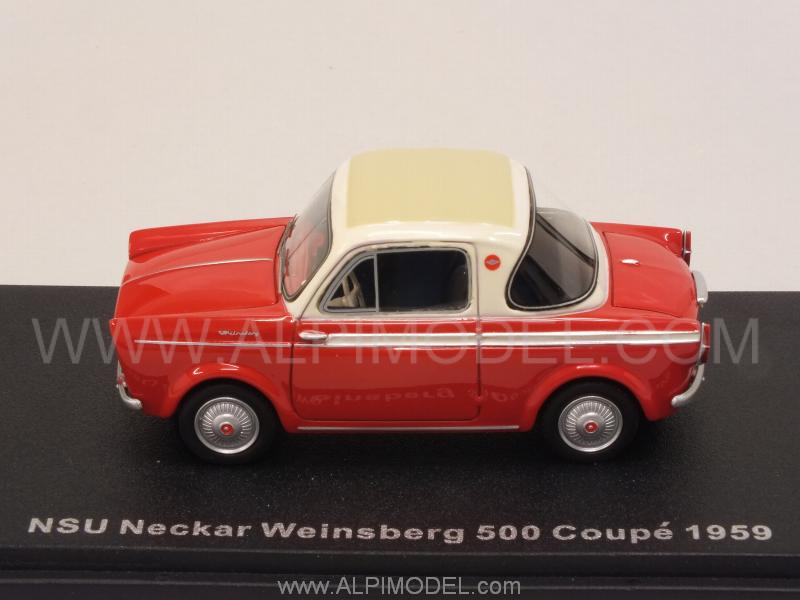 NSU Neckar Weinsberg 500 Coupe 1959 (Red) - best-of-show