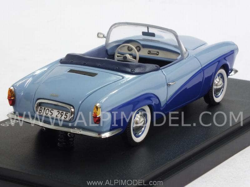 Rometsch Lawrence Cabriolet 1959 (Blue/Ligh Blue) - best-of-show