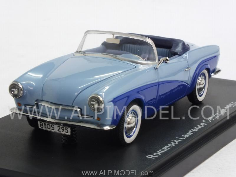 Rometsch Lawrence Cabriolet 1959 (Blue/Ligh Blue) by best-of-show