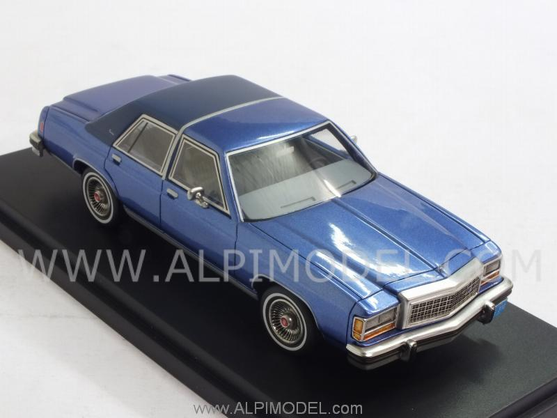 Ford LTDS Crown Victoria (Blue) - best-of-show