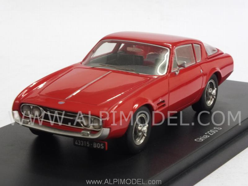 Fiat 230S Ghia   (Red) by best-of-show