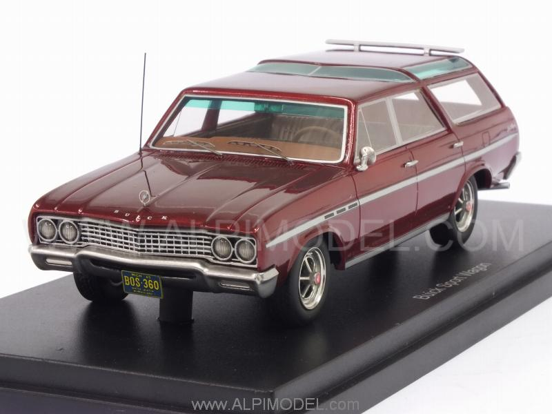 Buick Sport Wagon (Dark Red Metallic) by best-of-show