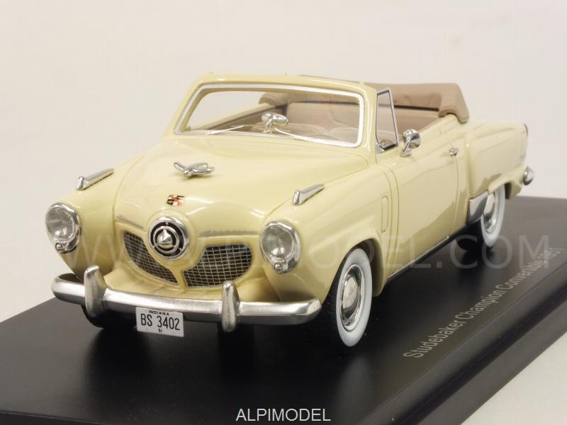Studebaker Champion 2-door Convertible 1951  (Light Yellow) by best-of-show