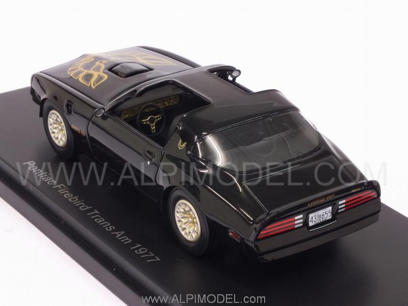 Pontiac Firebird TransAm 1977 (Black) - best-of-show