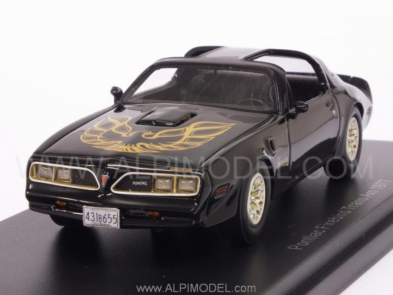 Pontiac Firebird TransAm 1977 (Black) by best-of-show