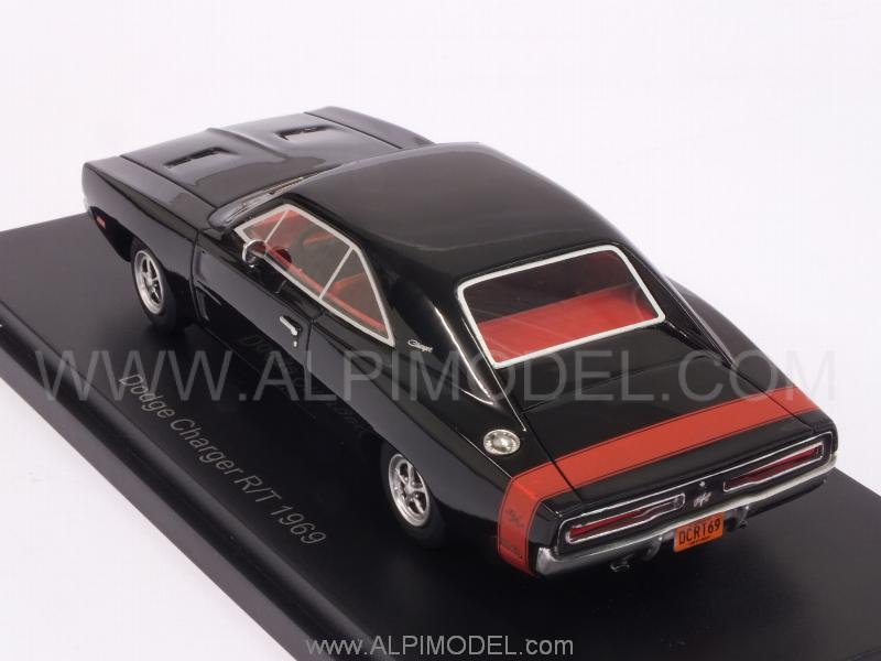 Dodge Charger R/T 1969 (Black) - best-of-show