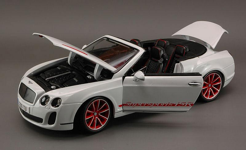 Bentley Continental Supersport Convertible 2010 (White) by bburago