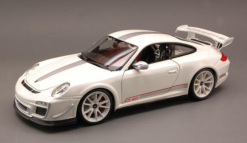 Porsche 911 GT3 RS 4.0 2012 (White) by bburago