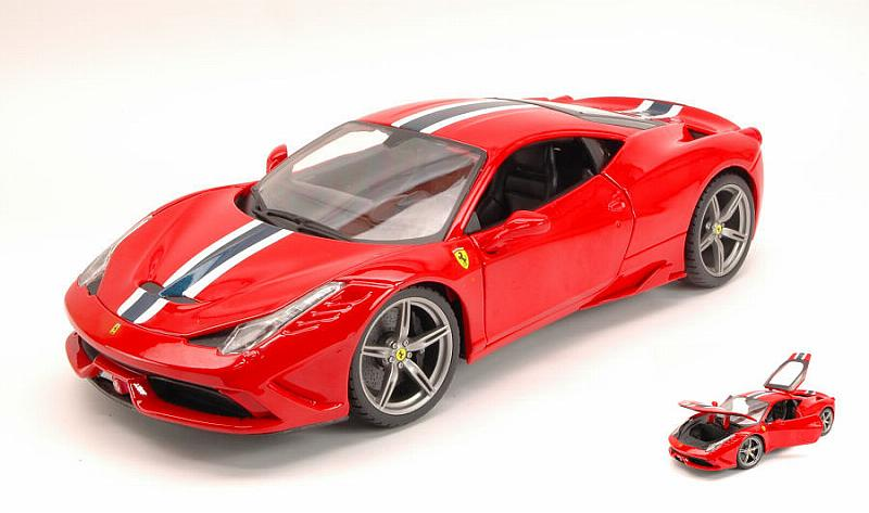 Ferrari 458 Speciale 2014 (Red) by bburago