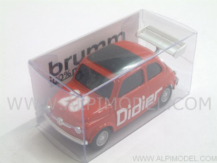 Fiat 500 Brums DIDIER #28 Special Edition by brumm