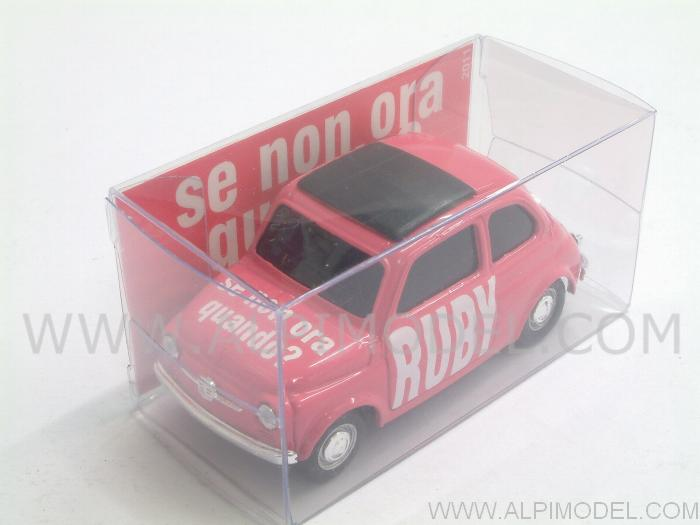 Fiat 500 Brums RUBY Special Edition by brumm
