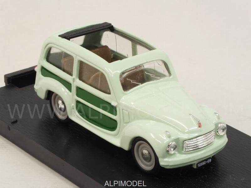 Fiat 500C Belvedere aperta 1951  (light-green) - brumm