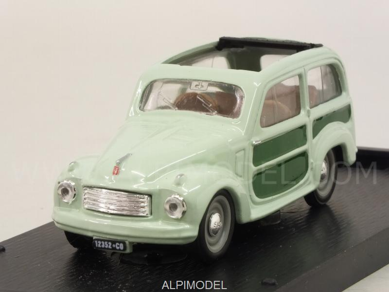 Fiat 500C Belvedere aperta 1951  (light-green) by brumm