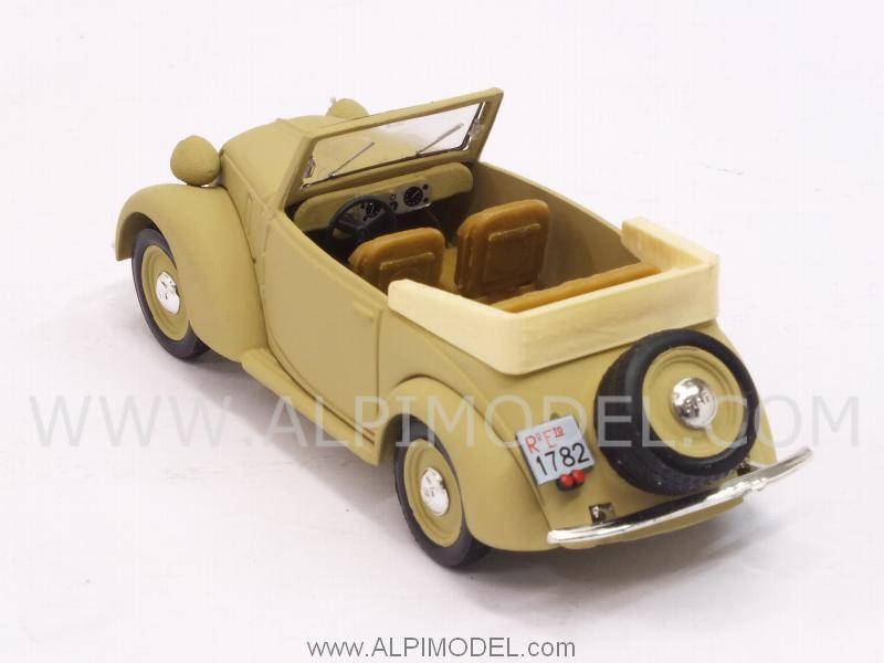 Fiat 1100 (508C) cabriolet Coloniale 1942 (update model) - brumm