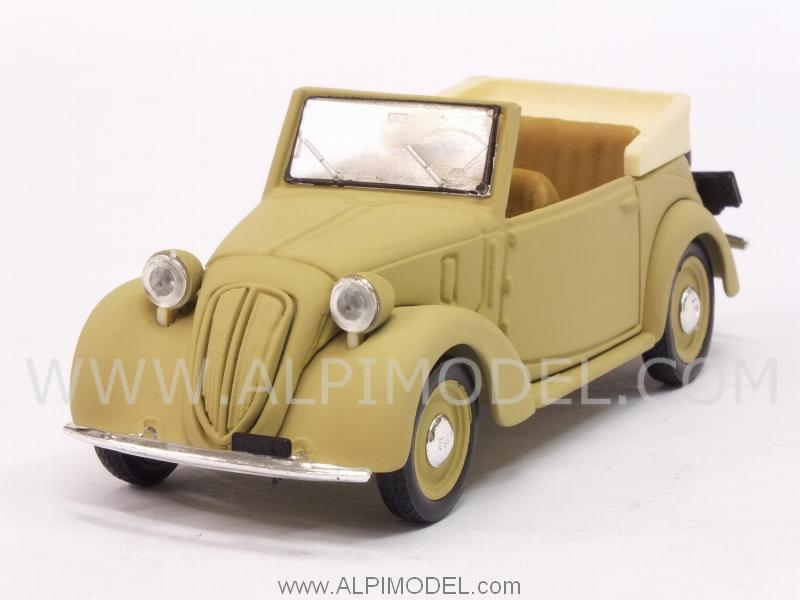 Fiat 1100 (508C) cabriolet Coloniale 1942 (update model) by brumm