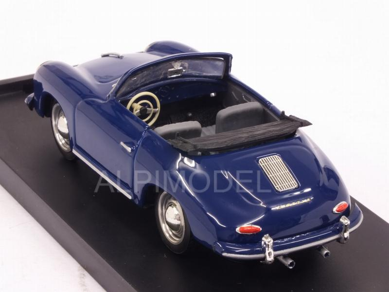 Porsche 356 Cabriolet open 1952 (Special Color Royal Blue) - brumm