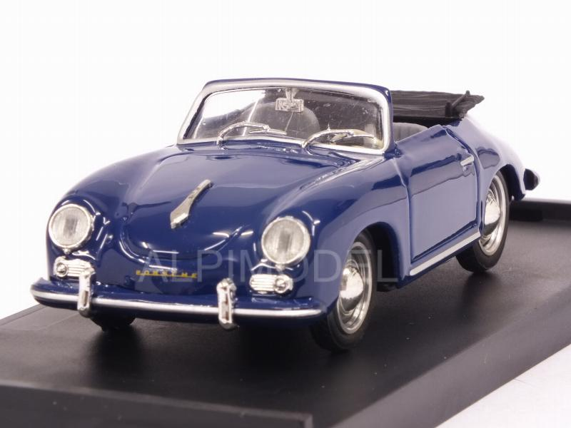 Porsche 356 Cabriolet open 1952 (Special Color Royal Blue) by brumm