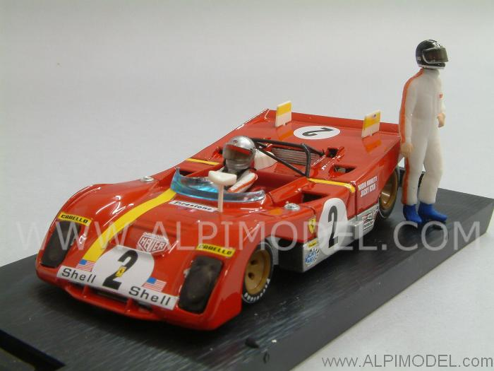 Ferrari 312 PB Six Hours Daytona 1972 Ickx - Andretti (con 2 piloti/with 2 drivers) by brumm