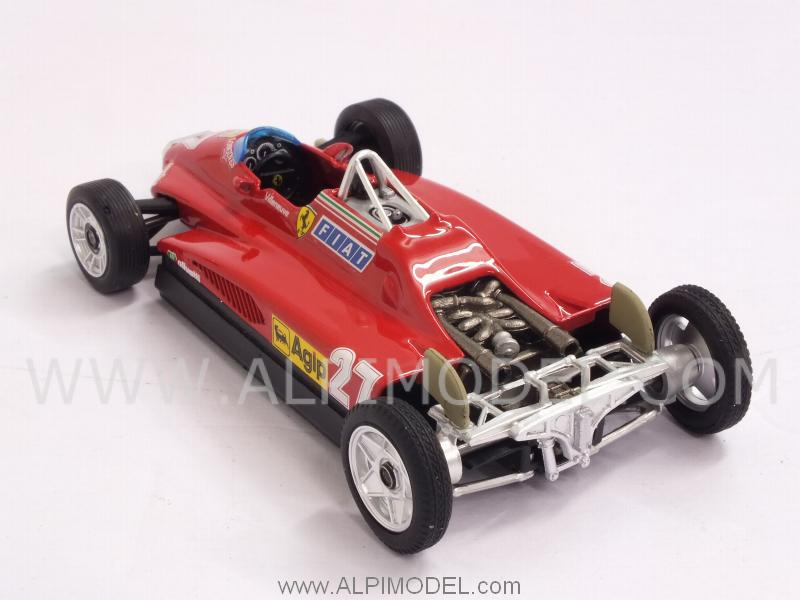 Ferrari 126 transport version C2 #27 GP San Marino 1982 Gilles Villeneuve - brumm