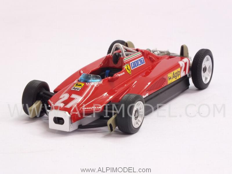 Ferrari 126 transport version C2 #27 GP San Marino 1982 Gilles Villeneuve by brumm