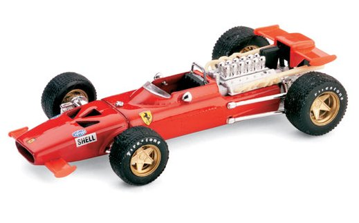 Ferrari 312 F1 Prova Modena con radiatore olio 1969 Chris Amon (update model) by brumm