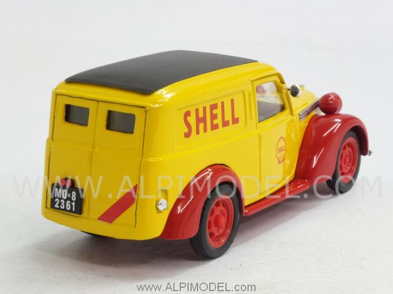 brumm Fiat 1100E Furgone SHELL GP Italy Monza 1958 Assistenza Scuderia Ferrari (1/43 scale model)