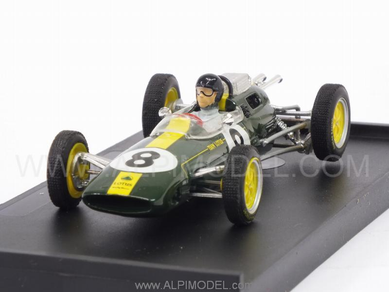 Lotus 25 #8 Winner GP Italy 1963 World Champion Jim Clark (with driver/con pilota) by brumm
