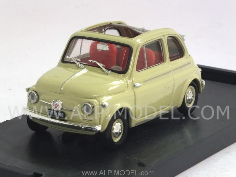 Fiat Nuova 500 Normale Aperta 1957 (Avorio) (New color) by brumm