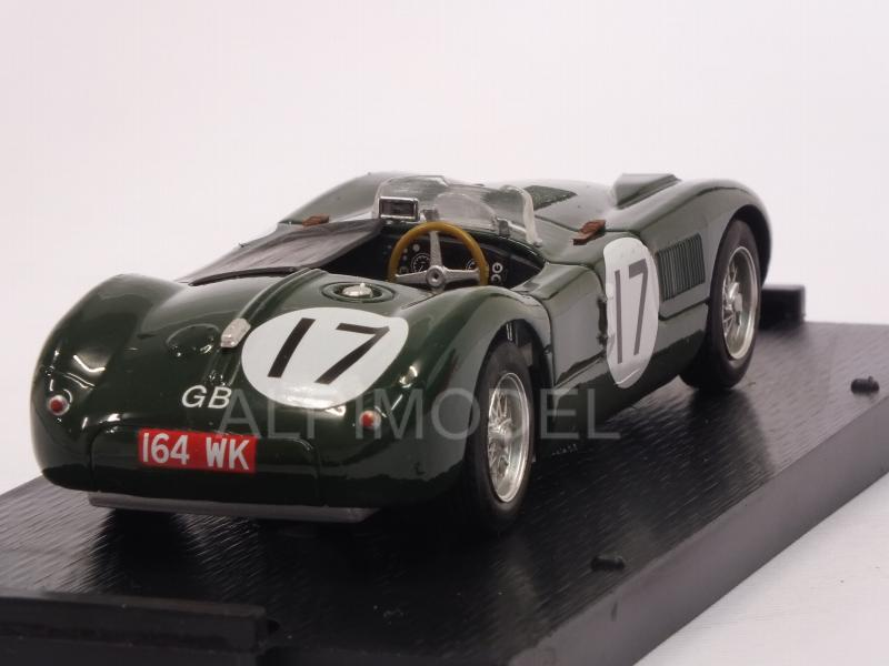 Jaguar C Type #17 (XKC 0053) 2nd Le Mans 1953 Walker - Moss - brumm