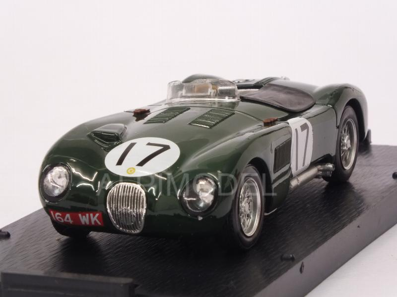 Jaguar C Type #17 (XKC 0053) 2nd Le Mans 1953 Walker - Moss by brumm