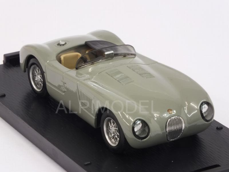 Jaguar C Type street 1953 (Birch Gray) - brumm