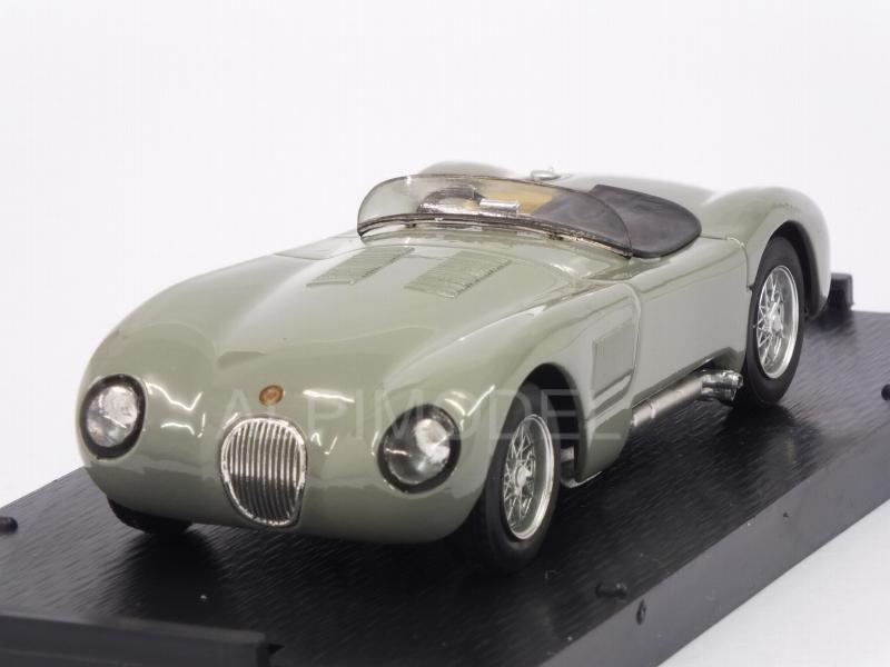 Jaguar C Type street 1953 (Birch Gray) by brumm