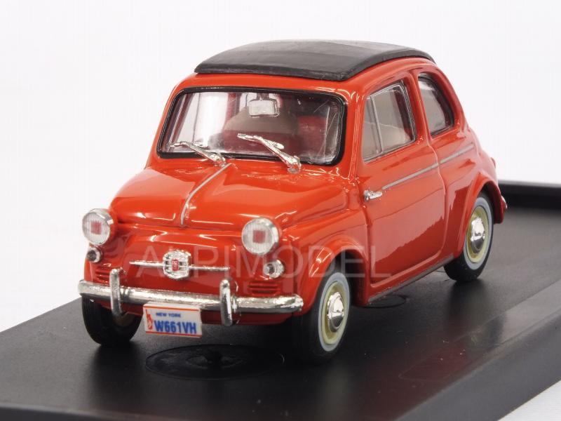 Fiat Nuova 500 America closed 1958 (Red) by brumm