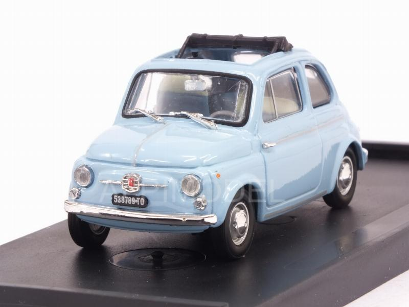 Fiat 500D open 1962-63 (Azzurro Pervinca) by brumm