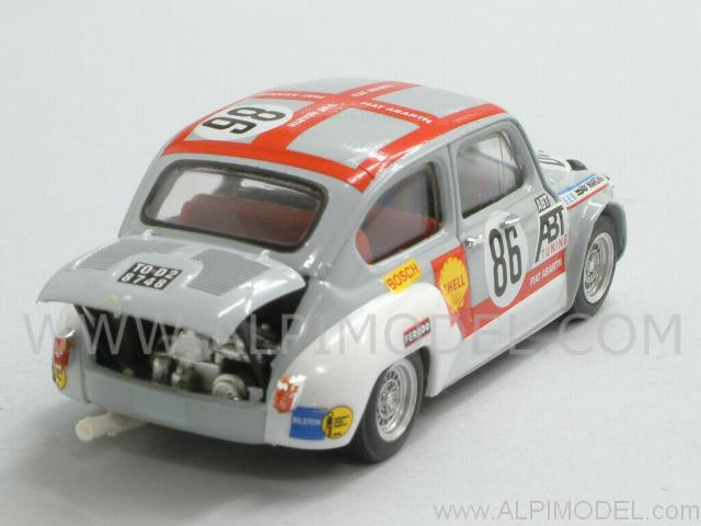 Brumm Fiat Abarth 1000 Tcr 86 24h Spa Francorchamps 1970